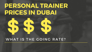 personal trainer prices in dubai